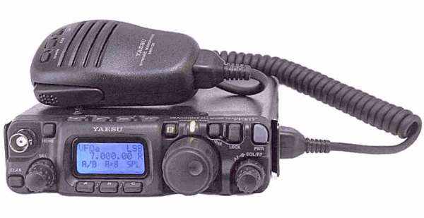 Yaesu FT-817 HF/VHF/UHF All-Mode Transceiver