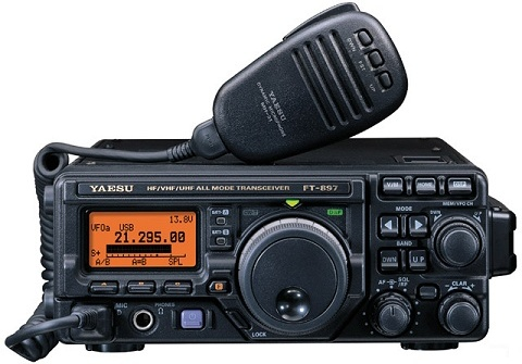 Yaesu FT-897 HF/VHF/UHF All-Mode Transceiver